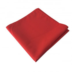 Serviette table rouge...