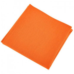 Serviette table orange...