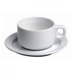 TASSE A THE PORCELAINE + SOUS NTASSE en location