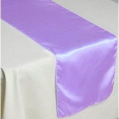 CHEMIN DE TABLE SATIN TISSU               en location