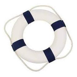 Table baroque blanche haut. 75 cm  location