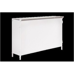 COMPTOIR/BAR PLIANTS Plateau inox 43xh108x long160  en location