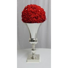 Vase ALUMINIUM CRYSTAL H 49 CM en location