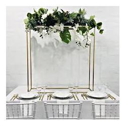 Boule de fleur tissu blanc  30 cm location