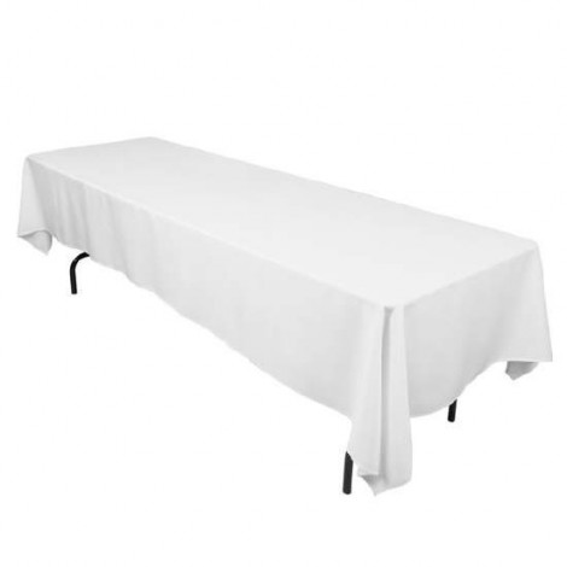Nappe rectangle blanc arabesque 150x300 TB8/10 location